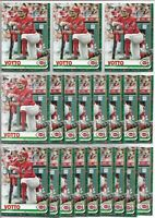 2019 Topps Holiday Walmart Joey Votto (20) Card Bulk Lot #HW65 Cincinnati Reds
