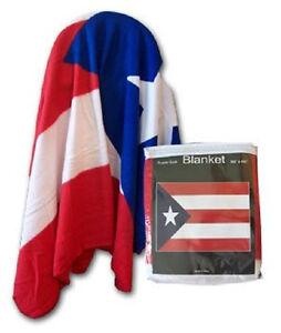 Puerto Rico Puerto Rican Flag 50x60 Polar Fleece Blanket Throw