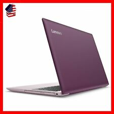 PURPLE 15.6 Inch Laptop Dual Core 4GB Windows 10 1TB Hard Drive Lenovo Ideapad