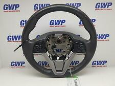 HYUNDAI TUCSON STEERING WHEEL BLACK LEATHER, TL, 07/15-