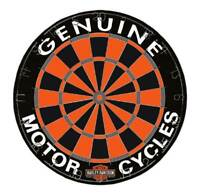 Harley-Davidson Genuine Competition Dartboard w/ Harley Colors - 18 in. 61976