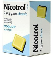 Nicotrol Nicotine Gum 2mg Classic Flavor 2625 Pieces 25 Boxes Fresh
