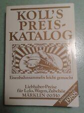 Koll's Preis-Katalog 1988