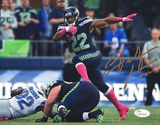 Fred Jackson Seahawks Signed Autographed 8x10 Photo #2 JSA