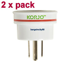 Korjo Aust. to USA Travel Adaptor for Australia 240v Plug- Fit28