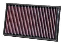K&N Hi-Flow Performance Air Filter 33-3005 fits Volkswagen Golf 2.0 GTI Mk7, ...