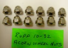 Rupp  TT-500,  XL-500,  XL-350 & Other Minibike Stainless Steel Acorn Wheel Nuts