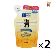 ☀[ 2pack set]Rohto Hadalabo Gokujyun premium hyaluronic acid lotion refill 170ml