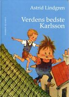 Buch Astrid Lindgren DÄNISCH : Verdens Bedste Karlsson ,Karlsson vom Dach