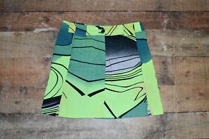 ELABORATE JAMIE SADOCK Sz 8 Airwear Green Stretch Golf Tennis Skort Skirt B30