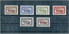 1933  Canada Air poste Zeppelin full set      -great cinderella