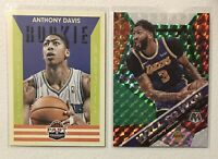 Anthony Davis Rookie & Prizm Lot 2012-13 Past & Present RC & Mosaic SP Lakers