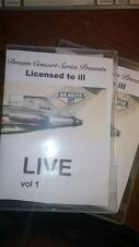 Dream Concert Series Presents: Beastie Boys- Licensed to ill  LIVE ! on DVD rare
