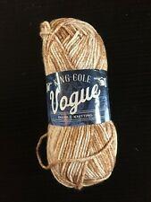 King Cole Vogue DK 100% Cotton Knitting Yarn Wool Crochet 50g Ball