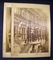 2 original Fotografien von Heidelberg um 1880 Architektur Kunst Kultur sf