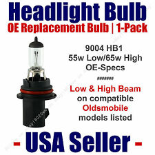 Headlight Bulb High/Low OE Replacement Fits Listed Oldsmobile Models - 9004