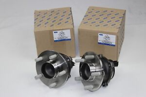 Original Wheel Hubs With Bearing Rear 2 Piece Ford Focus - C - Max 1766628 2x