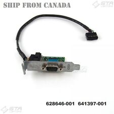 HP Serial Port Adapter with Cable Low Profile 628646-001 641397-001 012711-001