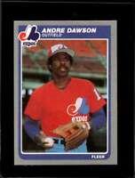 1985 FLEER #394 ANDRE DAWSON NMMT EXPOS HOF  *X4081