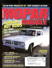 Mopar Muscle Magazine October 2005 Homebuilt Hot Rods EX w/ML 011717jhe
