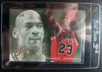 1995 96 FLAIR STYLE #235 MICHAEL JORDAN CHICAGO BULLS HOF MINT