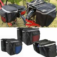 25L Waterproof Bike Bicycle Rear Rack Seat Saddle Bag Pannier Tail Bags