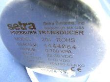 SETRA PRESSURE TRANSDUCER 204 ROHS 0-700KPA