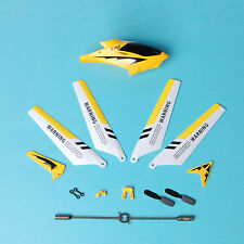 US Yellow for Syma S107G RC Helicopter Spare Parts Set Blades Buckles shaft