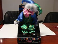 "New In Box 12 inch ""Clown Town Clowns"" ""Sammy"" porcelain face/hands clown"