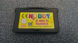 NODDY A DAY IN TOYLAND GAMEBOY ADVANCE SP