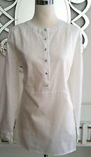 Talbot Blouse Dress Shirt Top 100% Cotton Sparkle Buttons Size Large 12-14  New
