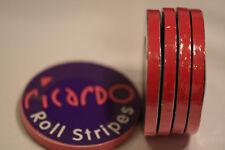 Job Lot(x5)Cerise Hot Pink 6mm  Single Coachline Tape Pin Stripe 8 metres