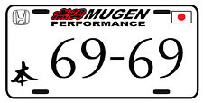 MUGEN HONDA LICENSE PLATE JAPANESE STYLE CUSTOM JDM LICENSE PLATE TRD Tundra Tac