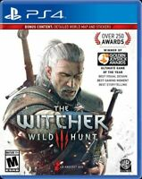 The Witcher Wild Hunt Playstation PS4 NEW! 1009
