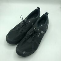 Swiss Engineering Men CloudTec Black On Running Shoes Lace Up Low Top Size 12 US