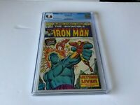 IRON MAN 70 CGC 9.6 WHITE PAGES SUNFIRE MANDARIN ULTIMO MARVEL COMICS 1974