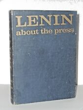Lenin, about the press - International Organisation of Journalists (1972) H/C