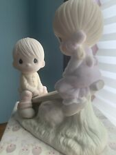 """New ListingPrecious Moments figurines. """"Love Lifted Me�. 1978 Excellent Condition"""