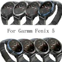 Metal Bezel Ring Adhesive Cover Replacement For garmi Fenix 5 Classic Smart r