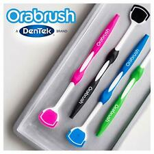 Orabrush Tongue Cleaner Helps Fight Bad Breath -4 Tongue Scrapers