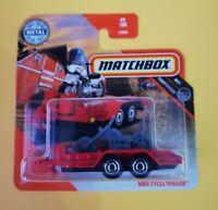 MBX Cycle Trailer Matchbox MBX Countryside 2020 99/100 Mattel Nuevo