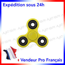 Hand spinner Jaune, jeu Main Hand 3D Jouet Roulement A Bille Anti Stress
