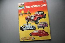 HOW AND WHY WONDER BOOK - THE MOTOR CAR - 1976 - VINTAGE MOTORING CLASSIC CARS