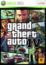 Grand Theft Auto IV For Xbox 360 Game Only 3E