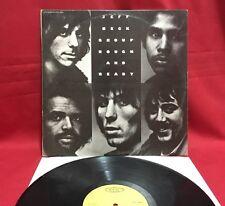 Jeff Beck Group – Rough And Ready - Vinyl, LP 1972 - 1st Italian Press