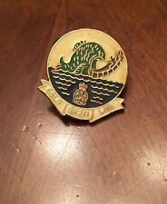COLD LAKE BR 211 ROYAL CANADIAN LEGION BRANCH 211 PIN - Fish after Canoe