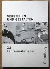 Verstehen und Gestalten G 2 Lehrermaterialien / Lehrerhandbuch mit CD-ROM NEU!!