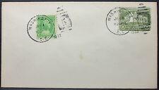 Washington 1932 FDC Postal Stationery Mount Vernon GS ZuF Ersttags Brief (L-605