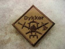 Norway Army,NAVY Badge Combat Diver desert sbd.cloth