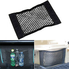 1pcs Black Car Trunk Rear Cargo Organizer Storage Elastic String Net Pocket Cage